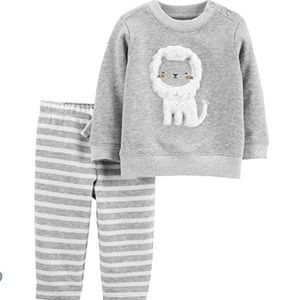 Carter's 2-Piece Lion French Terry Set